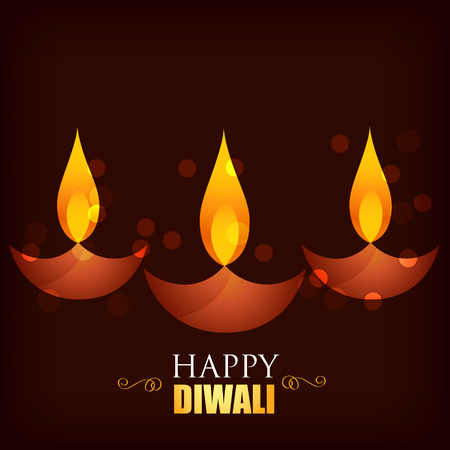 diwali festival vector design illustration Vector