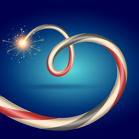 beautiful diwali crackers vector design Vector
