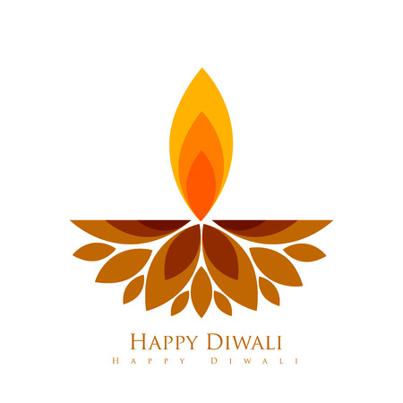 vector creative style diwali festival diya Stock Vector - 23065360
