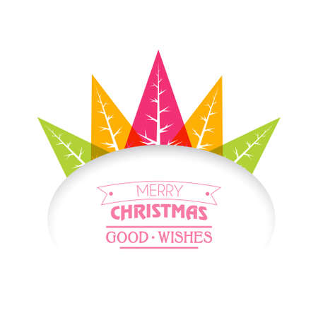 good wishes: merry christmas good wishes illustration Illustration