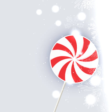 vector candy lollipop design illustration