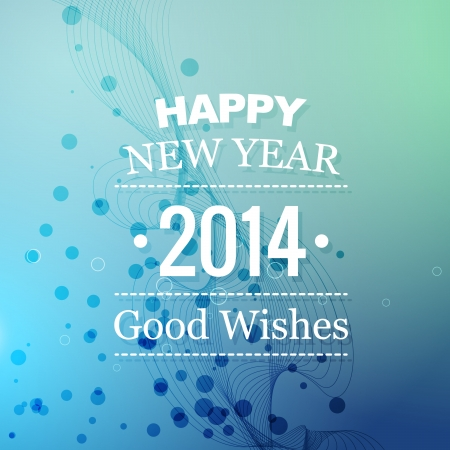 good wishes: happy new year good wishes background Illustration