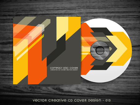 dvd cover: cd cover vector design art