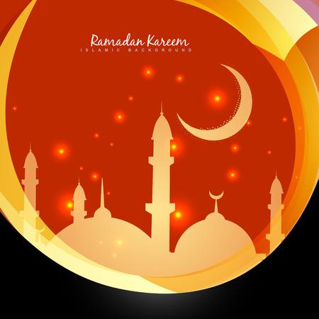 ramzaan: stylish ramadan kareem design background