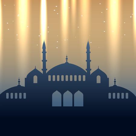 ramzaan: vector eid design background illustration Illustration