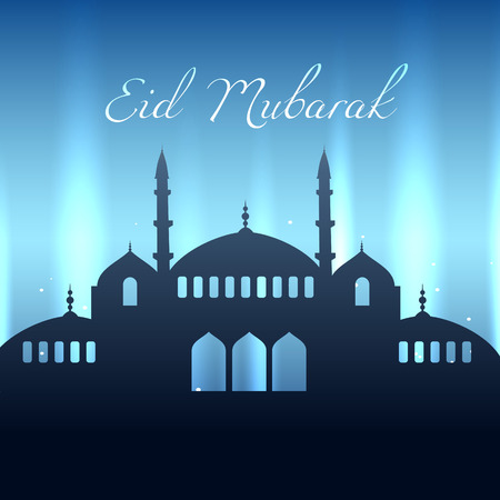 ramzaan: beautiful eid mubarak design background