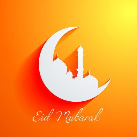 beautiful islamic design background illustration