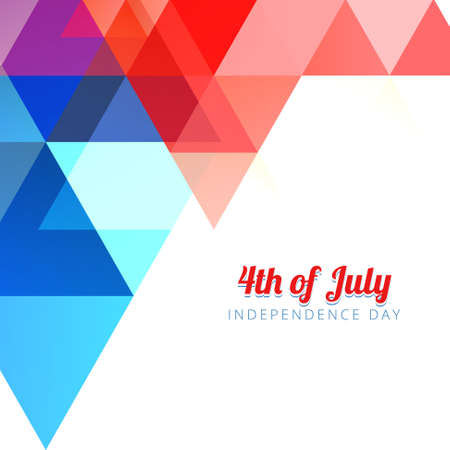 american 4th of july background design Vector