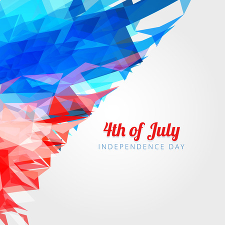 democratic: abstract 4th of july background