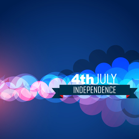 democratic: 4th of july american indepence day design Illustration