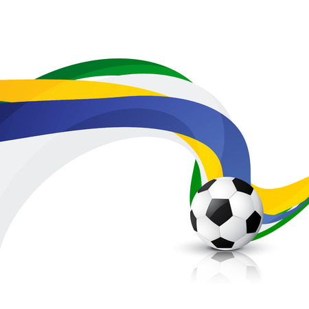 footbal: creative footbal game design  Illustration
