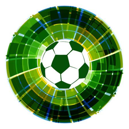 footbal: creative footbal design background illustration