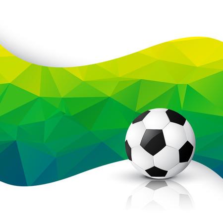 vector football design art background Vector