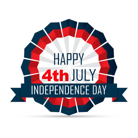 fourth: vector 4th of july independence day