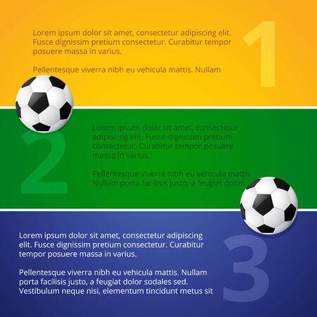 vector illustration of soccer design Vector