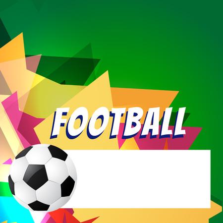 vector abstract style football design Vector