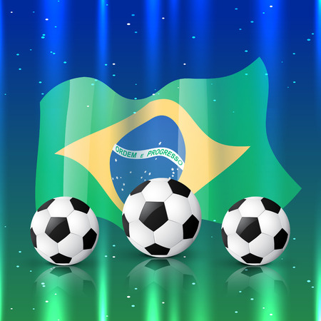 shiny background: vector football design in shiny background