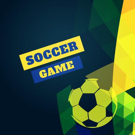 soccer football design vector illustration Vector