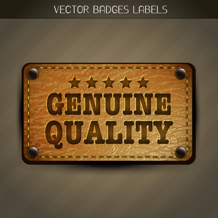 leather pants: genuine quality leather style label design