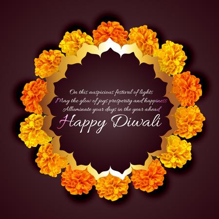 diwali background: Vector beautiful background of diwali Illustration