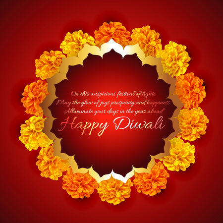 diwali celebration: Vector background of diwali Illustration