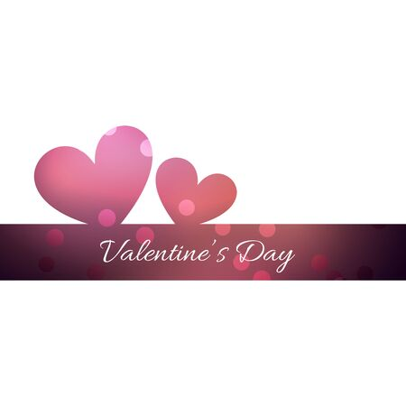 vector hearts: vector valentine day beautiful hearts background