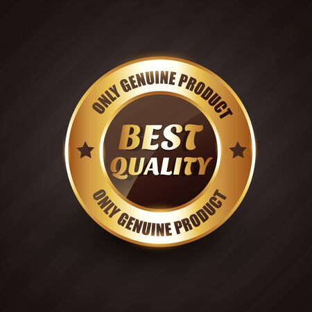 best products: best quality premium label badge with genuine products text