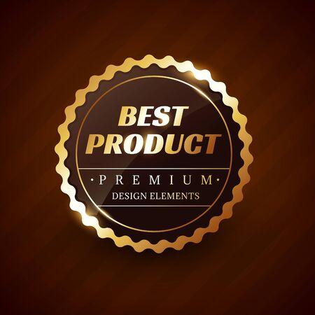best product: best product premium vector label design element Illustration