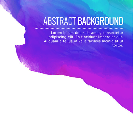 ink in water: abstract colorful ink background design with space for your text