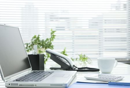 Office desk Stock Photo - 6305686