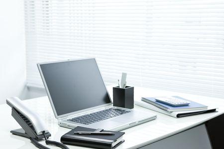 Office desk 写真素材