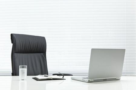 computer office: Office desk Stock Photo