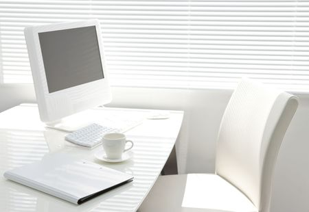 Office desk Stock Photo