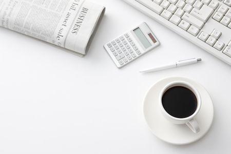 Office desk Stock Photo