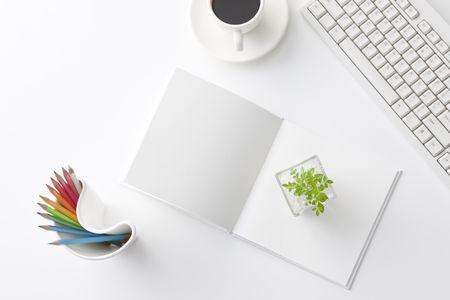 simplicity: Escritorio de Oficina Foto de archivo
