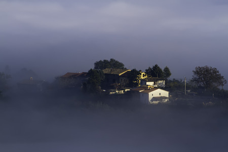 Houses In The Fog photo
