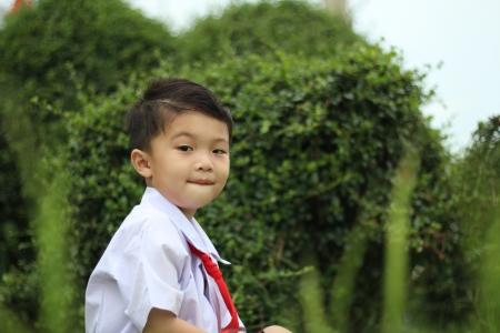 Boy in school uniform Stock Photo - 16304758