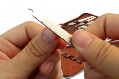 Nails are cut Stock Photo - 16757178