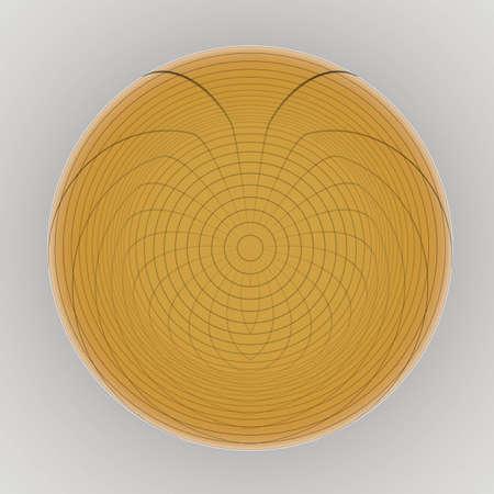 3 d render circle photo