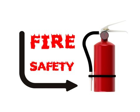smother:  Fire safety Stock Photo