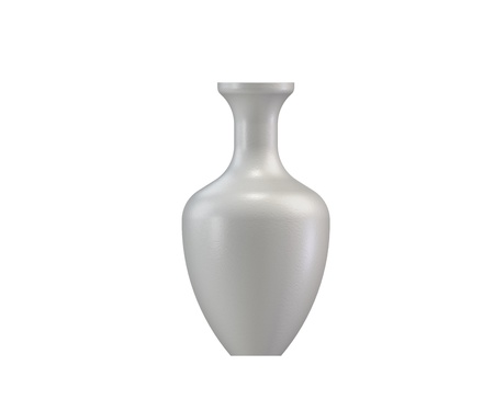 White vase photo