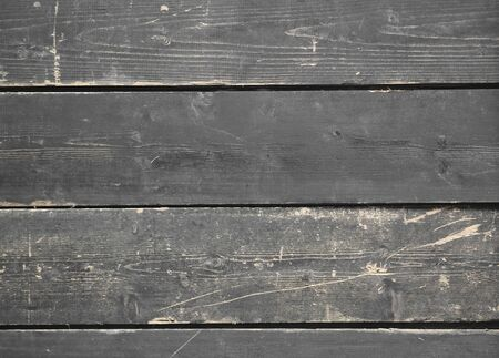 Processing Partial color. Wall. Background for photographing. Old painted dark boards. Textured wooden black background. Place for text.