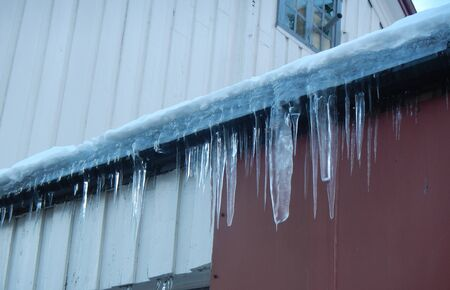 Icicle in Tromso, Norway