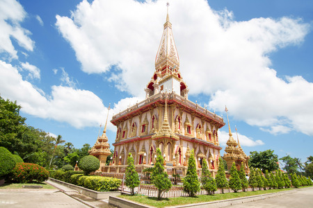 Wat Chalong In Phuket, Thailand photo