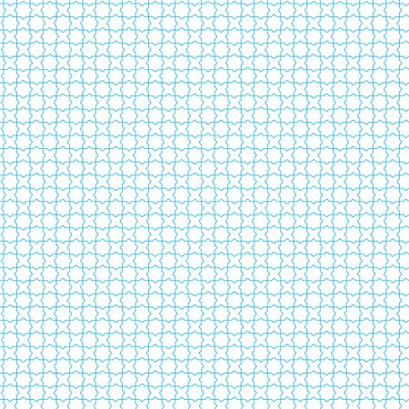 Simple seamless blue geometric jalousie background in plain style. Flat.