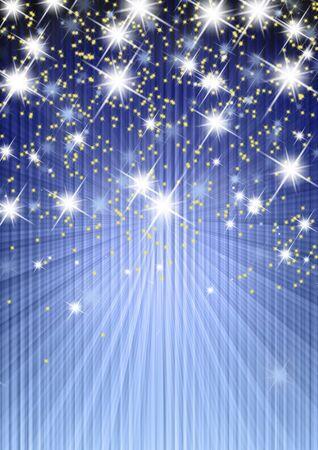 background stars, abstract illustration illustration