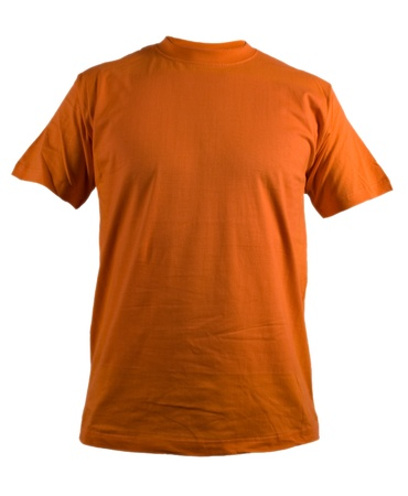 short sleeve: shirt pattern orange