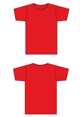 back round: tight red shirt pattern type.