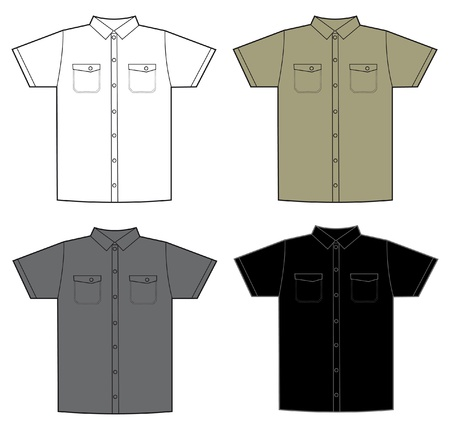 t shirt model: modello di colore camicia