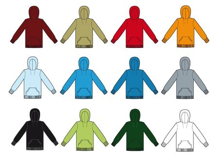 poliester: varios colores